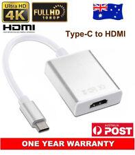 USB-C USB 3.1 Type-C to HDMI Adapter Audio Video HD For LG G5 G6 HTC U11 U Play