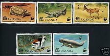 UGANDA WWF SCOTT# 176