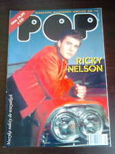 Polish Magazine POP SELLES number 16 front RICKY NELSON