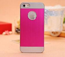 Brushed Aluminium iphone 5 i Phone 5s 5 Case Cover + Screen Protector + stylus