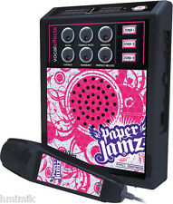 NEW PINK PAPER JAMZ PRO KIDS MICROPHONE AMPLIFIER MIKE POP MUSIC CHILDS TOY USB