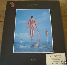 PINK FLOYD SHINE ON SUPER RARE 9 CD box con certificato n. 8646