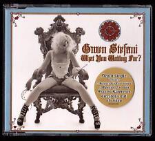 GWEN STEFANI CDs WHAT YOU WAITING FOR ? + 3 - NO DOUBT