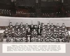 Detroit Red Wings - 1949-50 NHL Stanley Cup Champions - 8x10 B&W Team Photo