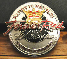 KENNY BERNSTEIN BUDWEISER NHRA FOREVER RED RUN TO REMEMBER 2002 METAL MEDALLION