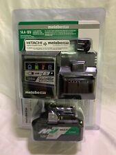 Metabo HPT Multi Volt 36V/18V Lithium 4.0 Ah Battery & Charger UC18YSL3B1M (NIB)