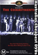 The Commitments DVD NEW, FREE POSTAGE WITHIN AUSTRALIA REGION ALL