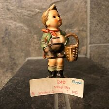 "Goebel Hummel Figurine ""Village Boy"" 4"" Tall w Box"