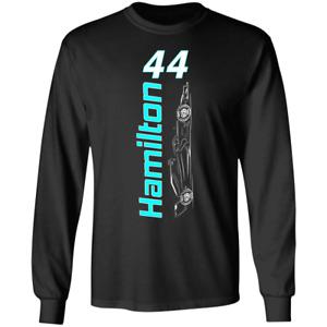Lewis Hamilton 2020 7x f1 Racing World Champion Long Sleeve T-shirt S-4XL