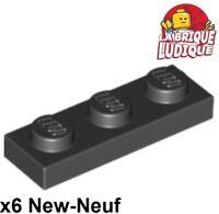 10 X LEGO ® 3623 City base pierres dans 1x3 d/'plat blanc article neuf.