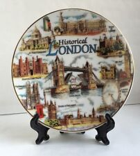 London Decoration Showpiece Plate With Stand Historical London Souvenir Gift