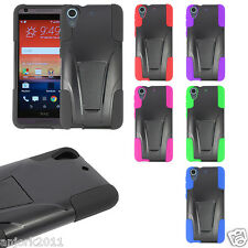 For HTC Desire 626 / 626s / 530 Hybrid T-Stand Case Skin Full Body Cover
