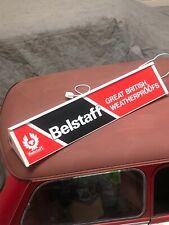 Belstaff Jackets Light Up Shop Display Sign Vintage Motorcycle Clothing Genuine