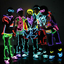 5pcs Neon Wire Light EL Glowing For Party Bar Xmas Outdoor Home Decoration New