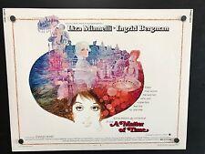 Original 1976 A MATTER OF TIME Movie Poster 22 x 28 LIZA MINNELLI / I BERGMAN