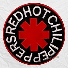 Red Hot Chili Peppers Embroidered Big Patch Rhcp Logo Kiedis Flea Back Rock Band
