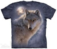 New The Mountain Adventure Wolf T Shirt