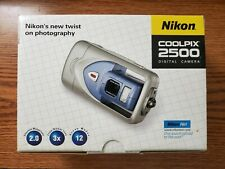 Nikon COOLPIX 2500 2.0MP Digital Camera - Silver