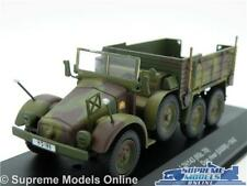 KRUPP L2H143 TANK MODEL LORRY DON RIVER USSR 1:43 SIZE 1942 MILITARY ARMY T3Z