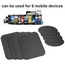 8pcs Magnetic Mount Metal Plate Universal Adhesive For Cell Phones iPad Tablets