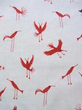 Red Black Birds Toss Baby Gone Wild Clothworks Cotton Fabric Yard SALE