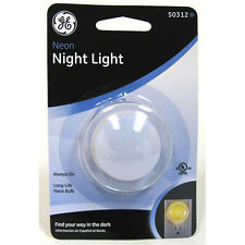 2pk GE Neon Night Light 50312 **Free Shipping**