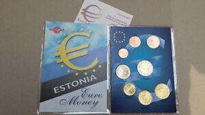 2018 ESTONIA 8 monete 3,88 fdc UNC EURO estonie estland Eesti Эстония