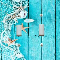 Light Switch Plate Outlet Covers BEACH DECOR ~ FISHING NET STARFISH SEA SHELLS