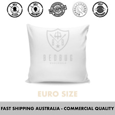 2 x Euro Size, Allergy, Bed Bug & Dust Mite, Pillow Protector & Cover
