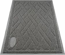 New listing Pawkin Cat Litter Mat, Patented Design with Litter Lock Mesh, Extra Large, Durab