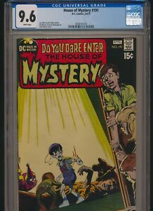 DC COMICS HOUSE OF MYSTERY #191 1971 CGC 9.6 WP NEAL ADAMS COVER