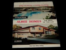 Vintage Matchbook,ROCHESTER,NY,Albee Garden Home Builders,1960's Designs,Catalog