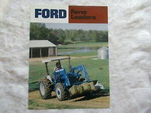 Ford tractors series 32 - 52 hp farm loaders  brochure