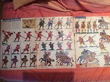 CORRIERE DEI PICCOLI 7 12/2/1967 3 PAGINE  FIGURINE LA BATTAGLIA DI PAVIA