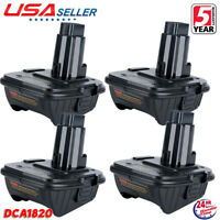 4X DCA1820 20V MAX Adapter Converter For Dewalt Li-Ion Cordless DCB200 Battery