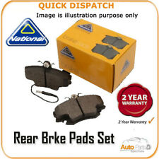 REAR BRAKE PADS  FOR OPEL MONZA A NP2627