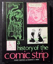 1973 A HISTORY OF THE COMIC STRIP by Pierre Couperie FN+ 6.5 5th Crown