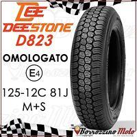 PNEUMATICO GOMMA DEESTONE 125/12 81J PIAGGIO APE TM P 703-V DIESEL 420 1987-2004