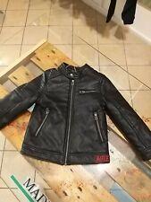 Giubbino Pelle veste Bambino jacket Rifle chaqueta