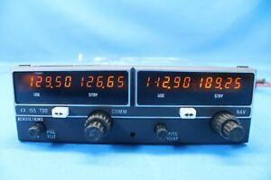 Repaired Bendix King KX-155 NAV/COMM Receiver 14V w/8130 PN: 069-1024-38 (27633)