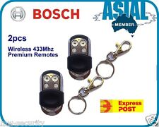 2 BOSCH Wireless 433Mhz Premium Remotes Keyfob for Alarm Security System