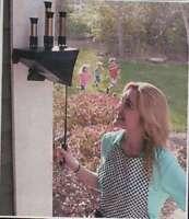bellows train whistle wooden body- garden whistle - 4 tone. non-electric signal.