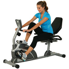 NEW Exerpeutic 900XL Extended Capacity Recumbent Bike with Pulse Exercise