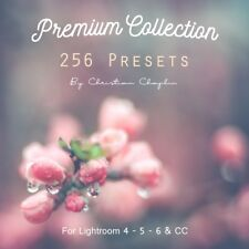 Pack 256 Presets Premium Collection Colors and B&W for Lightroom 4, 5, 6 & CC