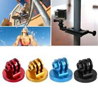 PULUZ Portable CNC Aluminum Alloy Converter Tripod Mount Base Adapter for GoPro