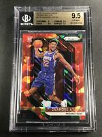DEANDRE AYTON 2018 PANINI PRIZM #279 RED ICE REFRACTOR ROOKIE RC BGS 9.5 GEM (A)