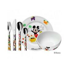 WMF Kinder Set 6 tlg.Mickey Mouse Besteck Geschirr Spülmaschine Micky Maus
