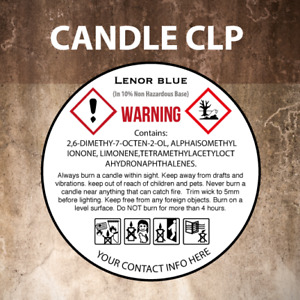 240 x FULLY CUSTOM CLP Labels, Wax Melts-Candle-Diffusers-Room Sprays