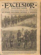 Infanterie Tommies British Army Red Cross Longeval Bataille de la Somme WWI 1916