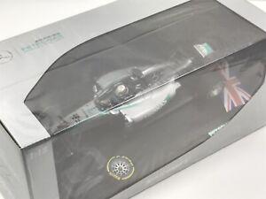 minichamps 1 18 f1 Sir Lewis Hamilton Mercedes AMG 2014 Abu Dhabi*Badly Damaged*